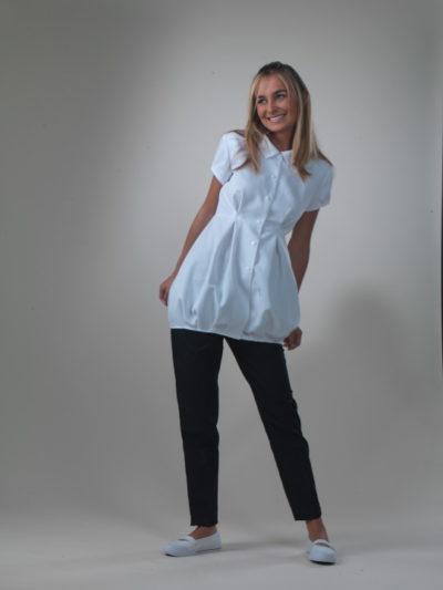 Bonbon - White Spa Uniform Top