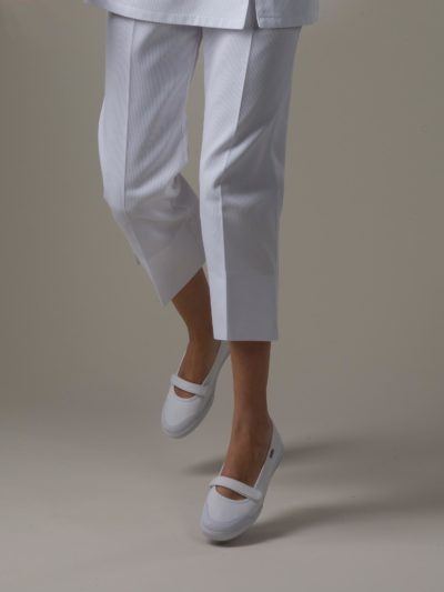 Bahia - White Spa Uniform Pants
