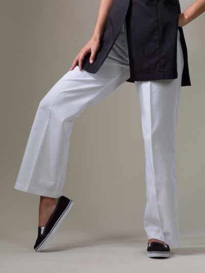 Kent - White Spa Uniform Pants