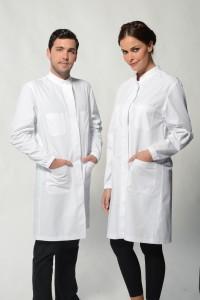 Monza – White Lab Coat