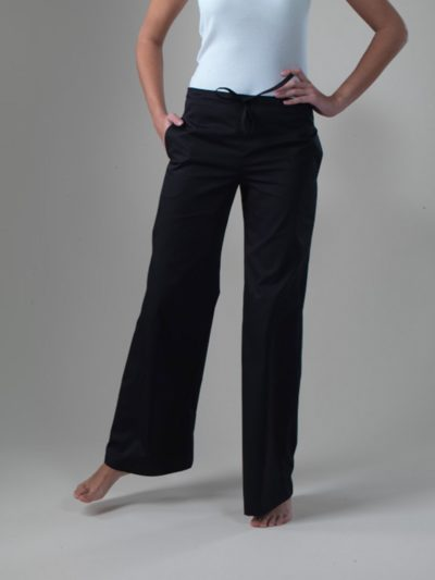Yang - Black Spa Uniform Pants